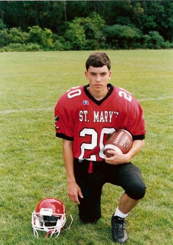 Patrick Junior Year football picture